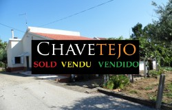 UNDER OFFER // A two bedroom detached house with 9,724 sqm of land for sale near Martinchel, Central Portugal