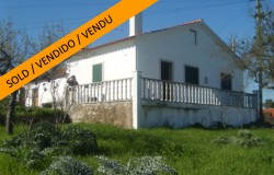Three cottages with land for sale near Tomar central Portugal