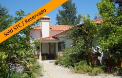 3 bed detached house with garden and garage for sale near Tomar