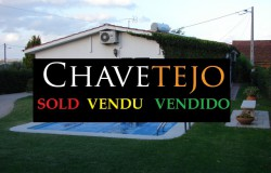 SOLD Three bedroom house with swimming pool and annex for sale near Tomar, Central Portugal