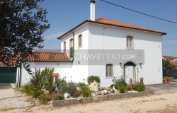 A detached three bedroom house with 10,500 sqm of land for sale near Tomar, Central Portugal