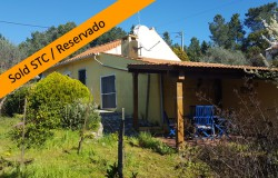 A cute property perfect for a holiday home in the sun for sale near Tomar, central Portugal