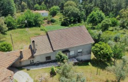Detached 3 bedroom country house, basement to convert, quite location, 2 storage annexes and car port.