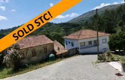 SOLD STC // 5 bed, 3 bath detached house plus stone cottage to renovate, garage, south facing balcony with mountain views