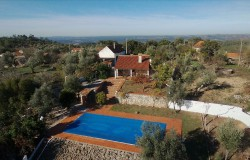 Traditional stone house, magnificent views, 11 x 5m Swimming pool, BBQ area, garage & Annex to convert.