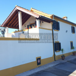 Unique 4 Bed Restored Farmhouse with 2 Bed Guest Cottage 1,500sqm Garden for sale near Tomar, central Portugal at Abrantes for 425000