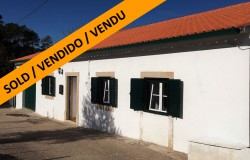 Renovated 3 bed bungalow with 2 acres of flat land, with vineyard and water for sale close to Alvaiázere