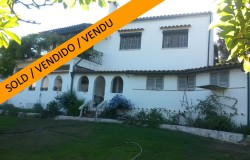 Pretty 3 bedroom detached house with mature gardens, pool and stunning views for sale near Miranda do Corvo