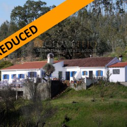 A country property that sits beautifully in its plot for sale just outside of the town of Tomar at 2300 Tomar, Portugal for 155000