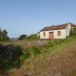 One house to renovate, a ruin to re-build, sat on a large plot of five and half hectares for sale near Pedrógão Grande at Pedrógão Grande, 3270, Portugal for 159800
