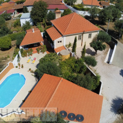 Detached 3 bed character stone house with established garden and pool for sale near Tomar at Tomar for 195000