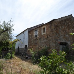 Two old stone houses built side-by-side for renovation ,  near the town of Cernache do Bonjardim, Central Portugal at Cernache do Bonjardim for 47000