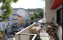 A three bedroom apartment in a a great location and with views of the castle for sale in Tomar