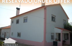 A seven bedroom, two storey house for sale only 2 minutes outside of Tomar, central Portugal.
