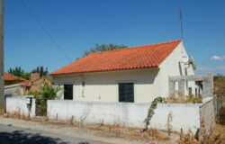 A 2 bedroom bungalow in need of cosmetic work with land for sale only 10 minutes outside of Tomar