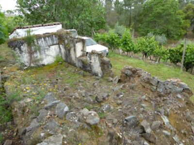 A plot of land with a ruin in Cernache do Bonjardim
