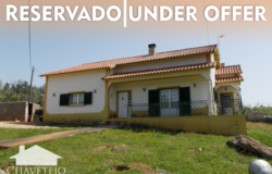 A 3 bedroom bungalow with a good size plot for sale near Ferreira do Zêzere and Tomar