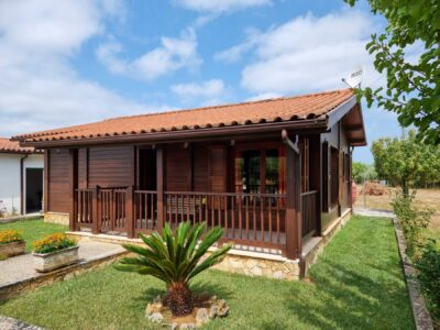 Wooden House With Guest Annex for sale