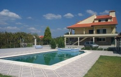Farm with swimming pool, vineyard & orchard for sale close to Tomar central Portugal