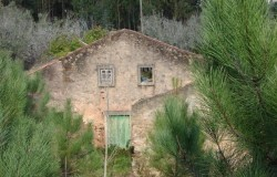 Detached stone ruined house for sale near Alvaiázere central Portugal