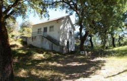 A two bedroom detached country house with Land for sale , Ferreira de Zezere central Portugal.