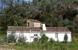 One bed holiday cottage for rent near Abrantes in Central Portugal