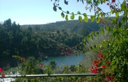 Lake fronted villa for sale near Tomar central Portugal
