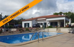 A beautifully built and well maintained house with swimming pool for sale in a lovely peaceful location