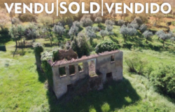 Large ruin with 1ha land, stunning views, orchard, water mine with spring, electric, fully fenced near Ferreira do Zêzere