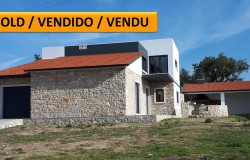 Modern 3 bed converted house with attractive stone features, garage, outdoor BBQ area space for pool near Ansião