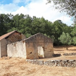 A ruin with permission to expand with no immediate neighbors and mostly flat land for sale near Alvaiazere at Alvaiazere for 42000