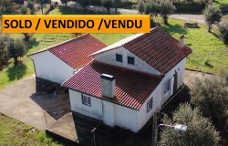 Detached 1 Bed, Large Garage and loft prepared for conversion, flat land 2 wells near Alvaiazere
