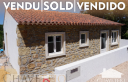 A newly built 2 bedroom property with land for sale near Ferreira do Zêzere and Tomar