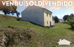 Two bedroom solid built stone house with storage annex for sale in a friendly hamlet not far from the Castelo do Bode lake