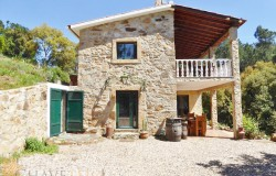 Renovated stone house in a private location  bordered by a stream with lots of water, walking distance to Pedrógão Pequeno