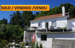 A 3 bed, country property with great views for sale near Tomar, central Portugal