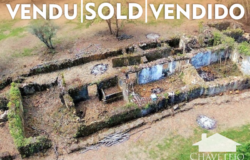Large ruin with 1.3ha of land, 1 quarter of the land is flat around the ruin, near Alvaiázere
