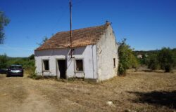 An old stone house plus an out building with lots of potential for sale 20 minutes from Tomar