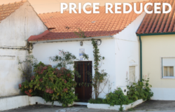 A three bedroom bungalow with a fenced garden and outbuilding for sale only 7km from Tomar