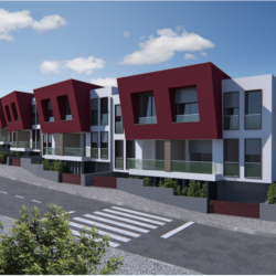 Townhouse under construction for sale 5 minutes walking distance from the town centre at Tomar for 270000