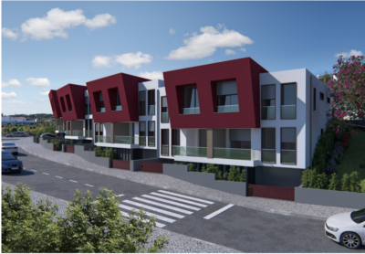 Townhouse under construction for sale 5 minutes walking distance from the town centre