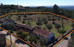 For Sale one entire side of a street, in a traditional village, large land plot, 2 water wells, stunning views near Alvaiazere